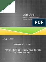 lesson 3 pp