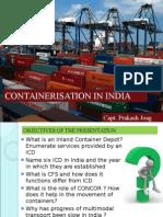 Containerisation in India 23.10.2014