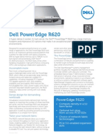 Dell PowerEdge R620 Spec Sheet