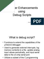 Debug Scripts