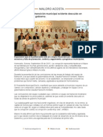 09-09-15 Señala equipo de transición municipal evidente descuido en todas las áreas de gobierno