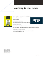 Electrical Earthing Coal Mines