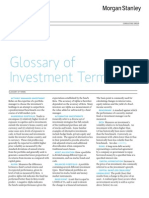 Glosory Investment