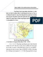 Chuyên Đề Vấn Đề Phát Triển Vùng Đồng Bằng Sông Hồng