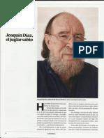 Entrevista a Joaquín Díaz - El País Semanal (30 Agosto 2015)