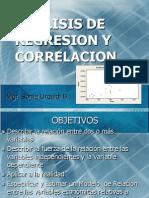 Analisis de Regresion y Correlacion