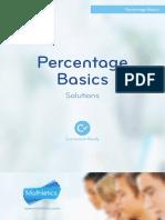 Percentage Basics Solutions GBR
