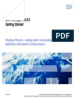 06 07 WindowsPhone8 - Adding Native Functionality to Hybrid Application With Apache Cordova Plugin
