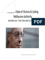 Murphy v State of Victoria & Linking Melbourne Authority East West Link – From 'Done Deal' to Dead End*