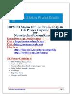 2015 capsule chsl ssc pdf gk