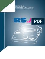 Catalog Agitatoare RS LAB