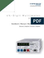 Manual Hm8012 Español