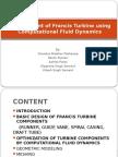 Development of Francis Turbine Using CFD