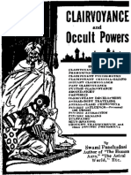 The Clairvoyance and Occult Powers