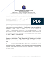 Nota Informativa 575 - 2012