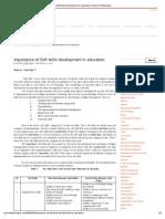Importance of Soft Skills Development in Education _ School of Educators