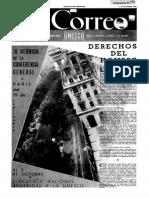 UNESCO - Correo de La Unesco 1949-10 Derechos Del Hombre