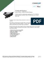 Diplexer E11F05P82