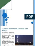 demanda electrica en mexico y el mundo