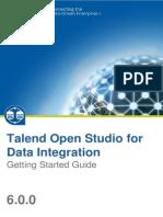 TalendOpenStudio DI GettingStarted 6.0.0 En