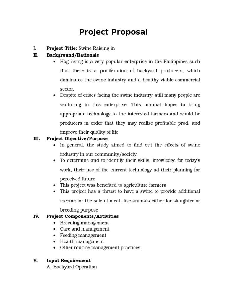 piggery business plan tagalog
