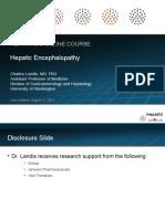 m3 l4 Hepatic Encephalopathy