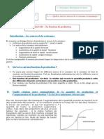 Fiche - La fonction de production.doc