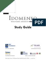 Idomeneo Study Guide