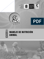 Cartilla 03 - Manejo de Nutricion Animal