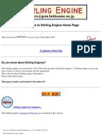 Stirling Engines Diy