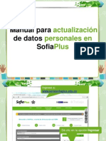 Manual Actulizacion Datos Sofiaplus Final
