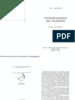 A.anzenbacher-Wprowadzenie Do Filozofii