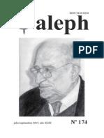 Aleph. Julio-Septiembre 2015. No. 174.