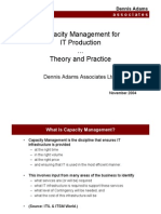 Capacity Management Basics