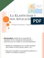 La Elasticidad y Sus Aplicaciones