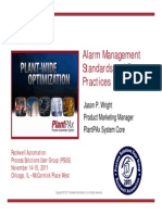 Alarm Management Standards and Best Practices, Rockwell