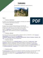 Turismo - Document