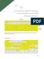 Nietzsche Critico Del Mecanicismo (Portugues)