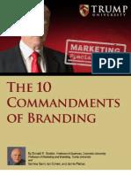 10 Commandments of Branding by Donald Trump