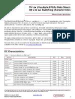 Ds893 Virtex Ultrascale Data Sheet
