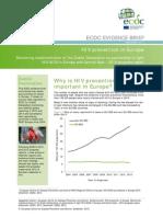 2dublin Declaration Hiv Prevention Evidence Brief