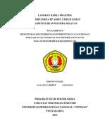 Laporan KP PT. Pertamina EP Field Limau
