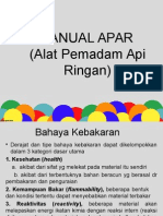MANUAL APAR (Alat Pemadam API Ringan)(1)
