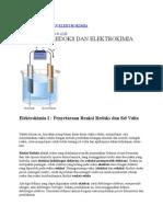 Reaksi Redoks Dan Elektrokimia