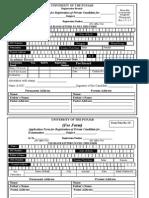 Examination Registration Form
