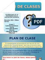 Planificacion de Clases en aula