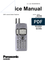 Panasonic G450 Service Manual