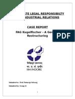 A Report on FAG Kugelfischer
