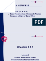 Chapters 4 and 5.FP