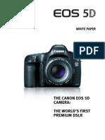 Canon EOS-5D White Paper